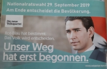 Nationalratswahl Sonntag, 29. September 2019